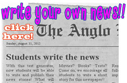 Start writing your news now! Click here!